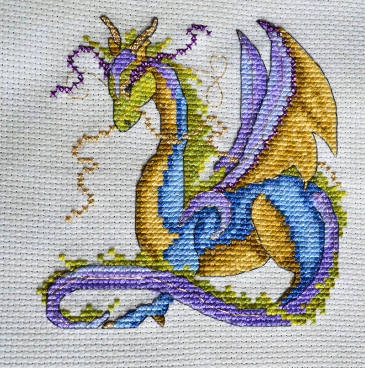 Eveningemma Joan Elliot S Dragon Dreams Finished