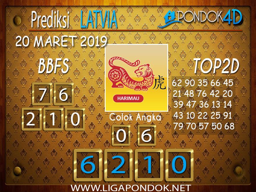 Prediksi Togel  LATVIA  PONDOK4D 20 MARET 2019
