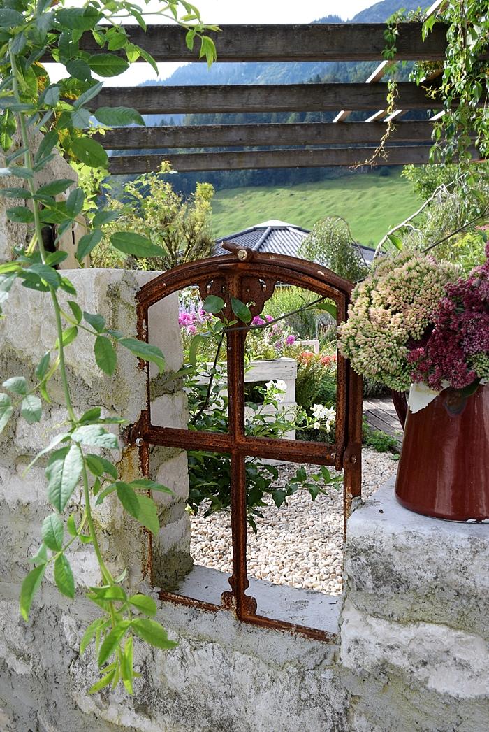 Alte Ruinenmauer für den Garten bauen