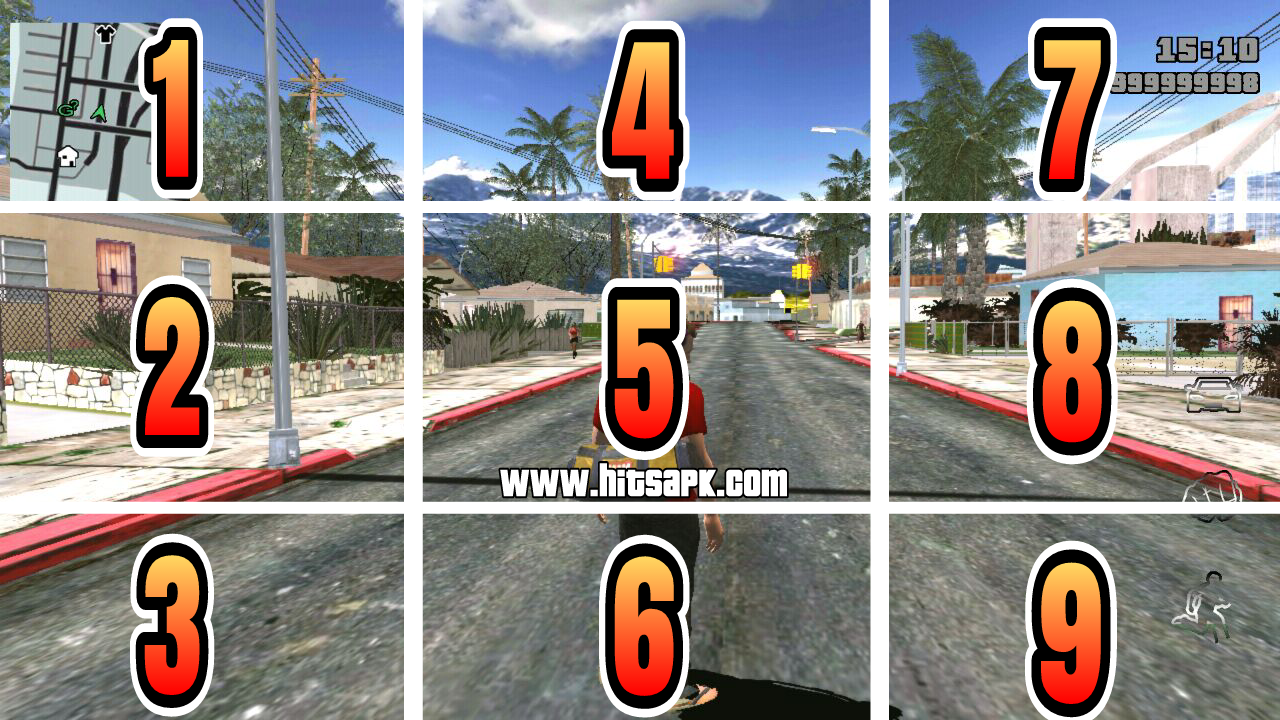 download GTA SA Lite AURORA by hitsapk MOD APK terbaru
