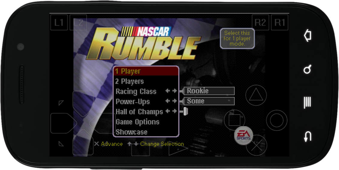 Nascar Rumble   Android   Ps1