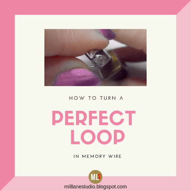 Making perfect memory wire loops inspiration sheet