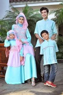 Baju Muslim Pasangan Ayah Ibu Dan Anak