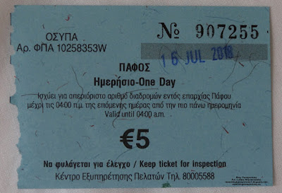 Pafos, bilet dzienny, Paphos one day ticket