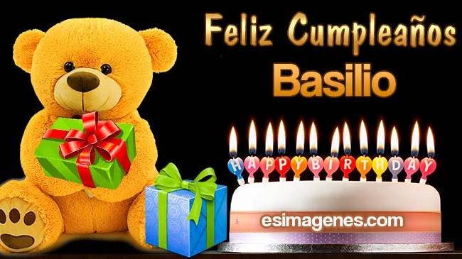 Feliz Cumpleaños Basilio