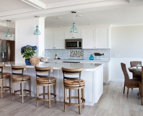Beachfront Condo Renovations : Beach condo remodel chic cottage style coastal decor