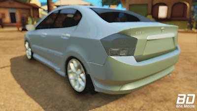 Mod , Carro, Honda City 2009 para GTA San Andreas, GTA SA