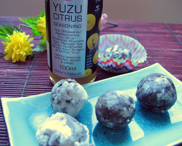 Yzu, chocolate truffles