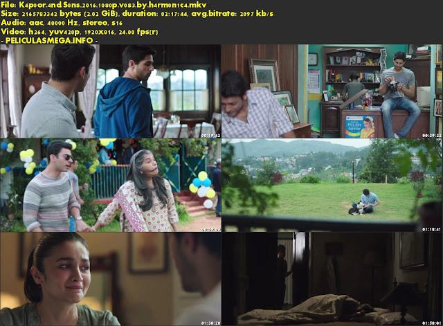 Descargar Kapoor & Sons Subtitulado por MEGA.