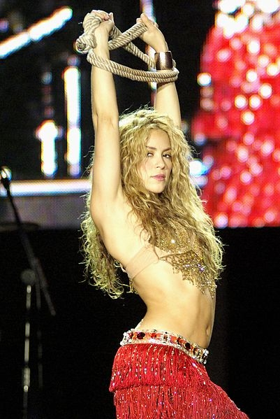 Shakira's bellydance looks - Free belly dance classes