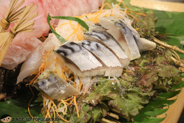 Makerel Sashimi