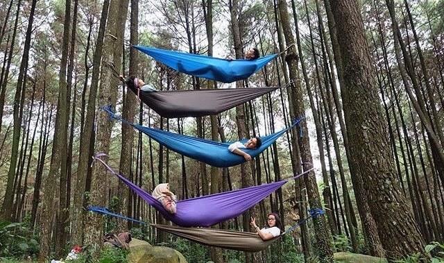 hammock di gunung pancar