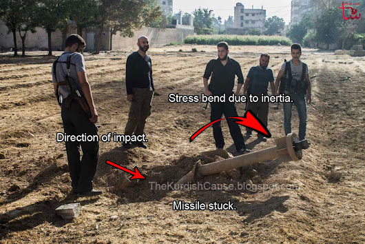 Analysis on the origin of CW missile #197 that landed in Ghouta, Syria.