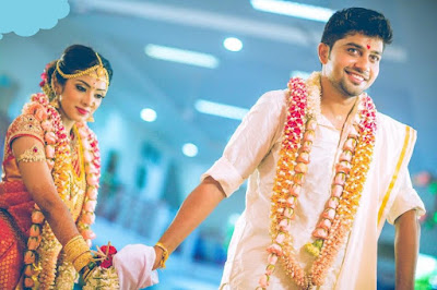 Sun Music VJ Diya and Karthik wedding photos 1