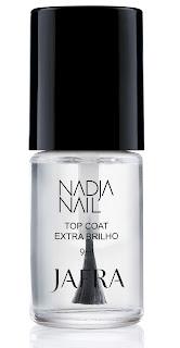 Top Coat Extra Brilho Secagem Rápida Jafra Nadja Nail – 9 ml