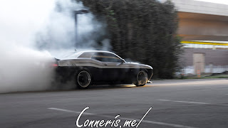 TITAN 2015 Dodge Challenger RT Scat Pack Burnout 4