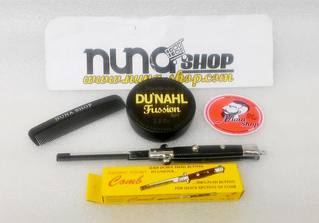 New Du'nahl Pomade Fussion Light Unorthodox (Water in Oil Pomade)