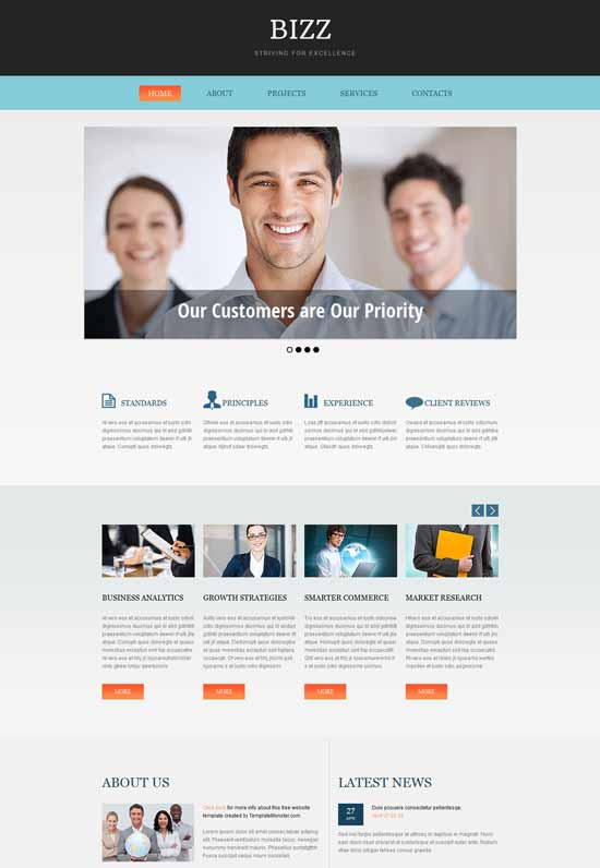 It consulting it consulting website templates free it consulting website templates free images cheaphphosting Image collections