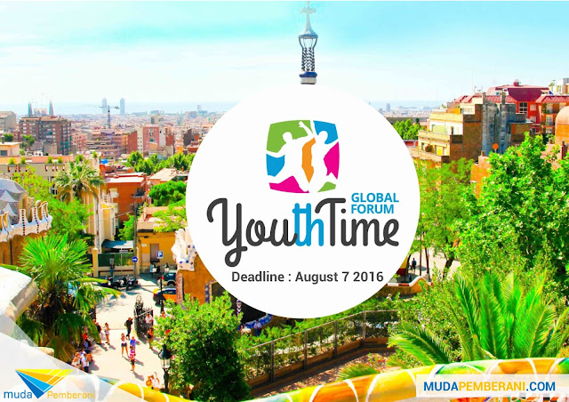 Apply Now to Participate Youth Time Global Forum 2016 in Indonesia