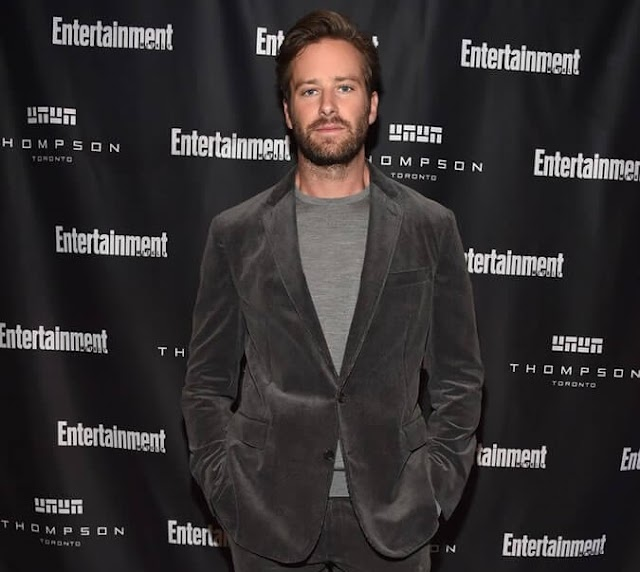 Wearing A Textured Suit Is not Easy, But Armie Hammer Nails It