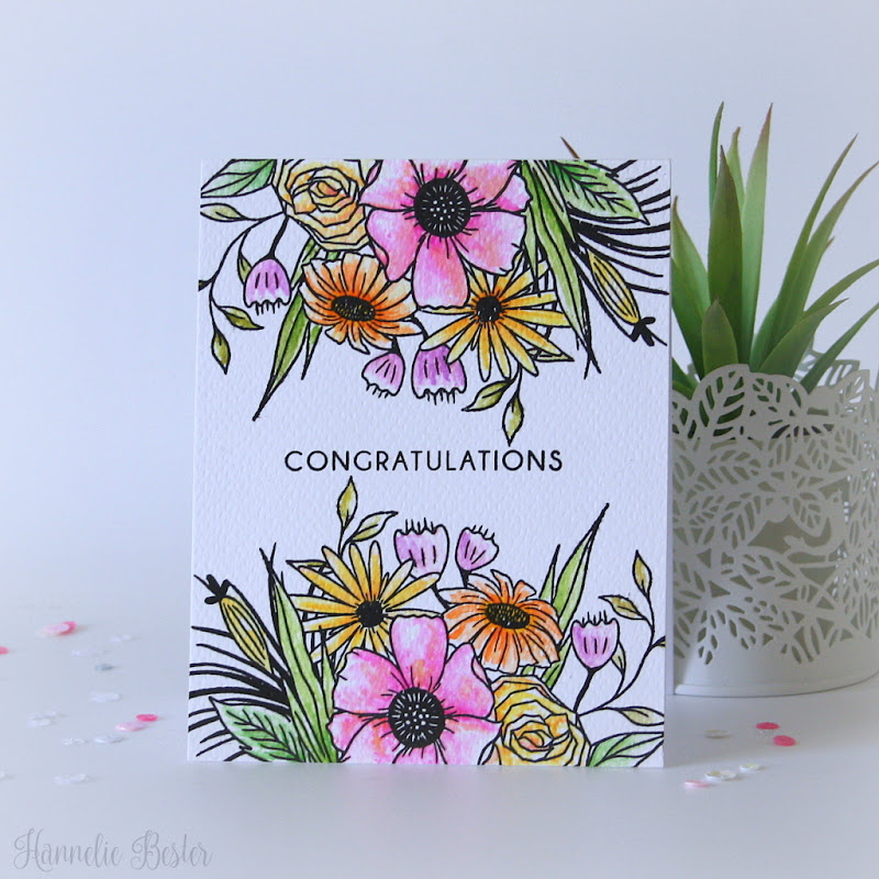 Altenew  - Happy Bloom stamp set