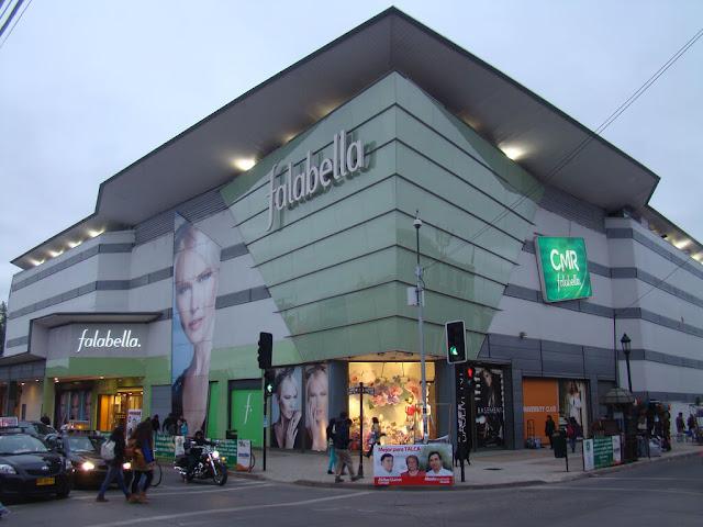 falabella empresa chilena