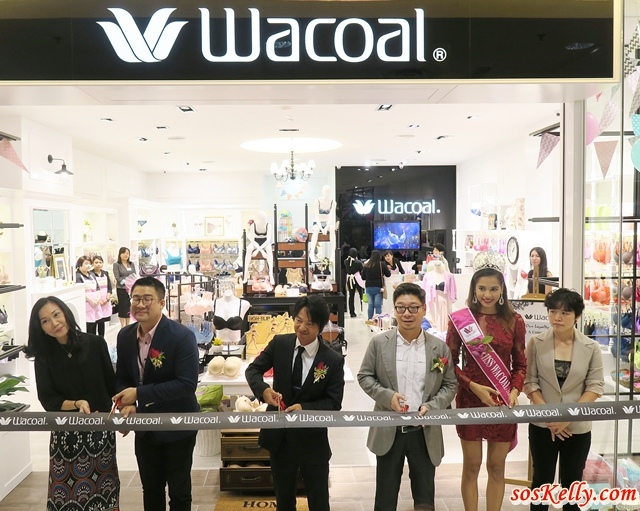 57c174eda22ed Wacoal The Store   Sunway Pyramid Official Opening