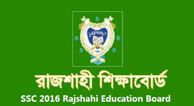 SSC 2016 Rajshahi Education Board