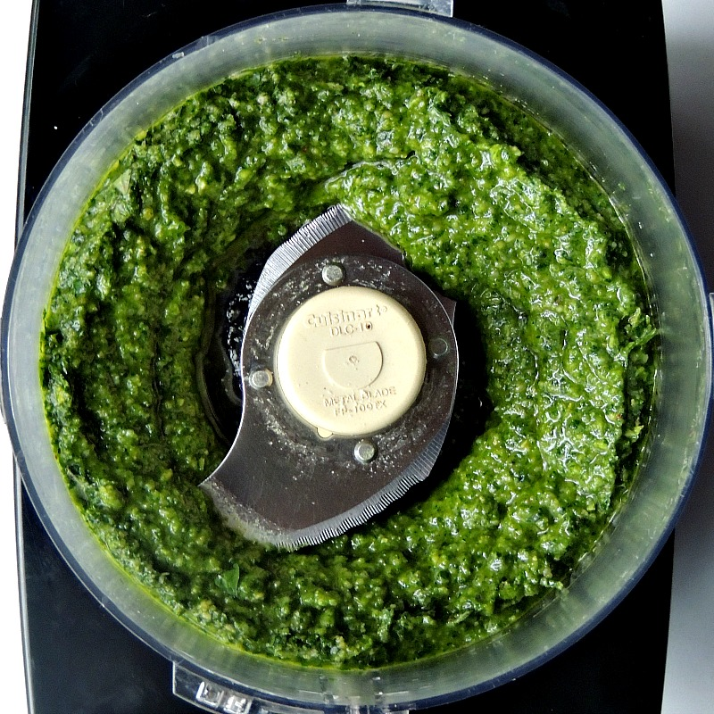 Homemade classic pesto is so much better than store bought, and much cheaper! From www.bobbiskozykitchen,com