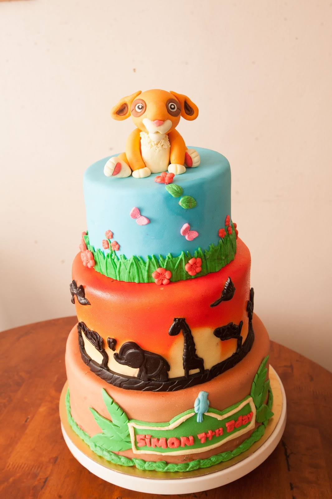 Disney The Lion Guard Fondant Cake Cakes By Edilyn