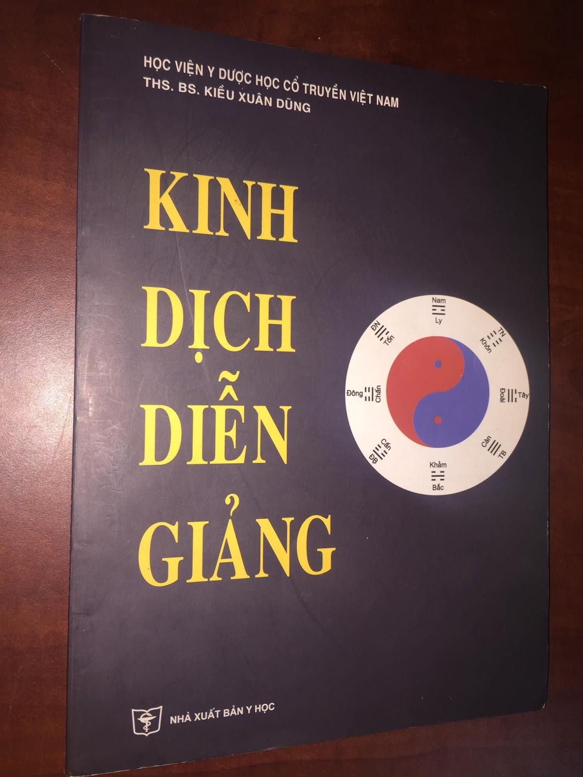 Kinh dịch diễn giảng do Học viện y dược học cổ truyền Việt Nam