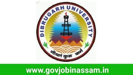 Dibrugarh University Recruitment 2018