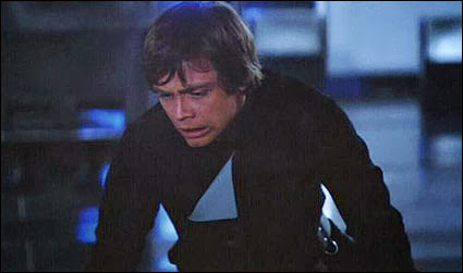 Luke Skywalker wears black clothes ROTJ