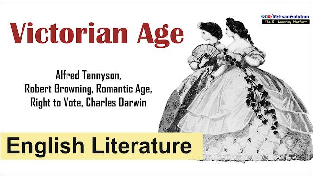 myexamsolution,victorian period, victorian age, english literature