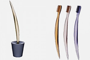 Iconic : La brosse à dents Dr Kiss dessinée par Philippe Starck
