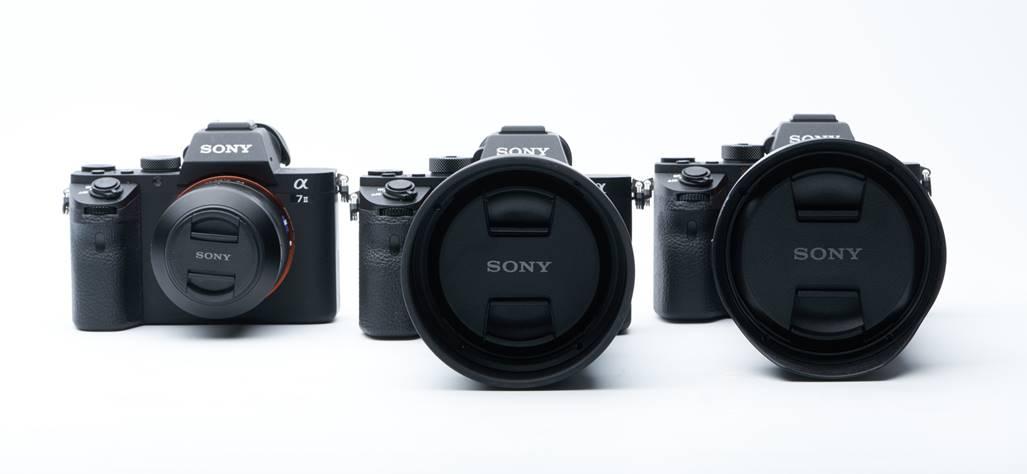 Sony A7 II, A7S II и A7R II