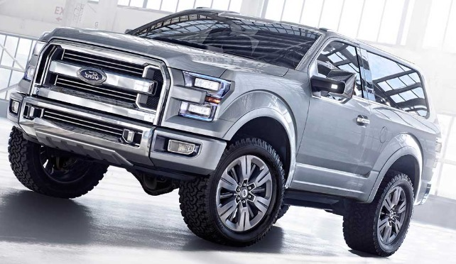 Ford Bronco 2018 Cost