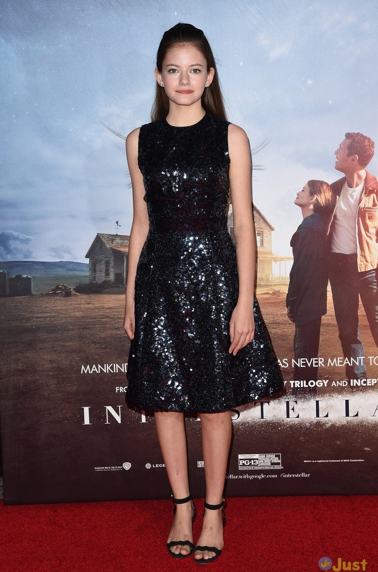 Mackenzie Foy attend Interstellar NYC Premiere