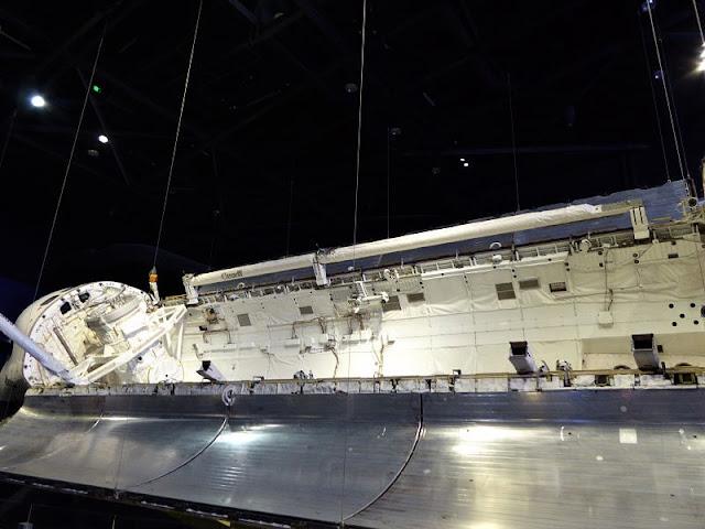 il vano cargo dello shuttle atlantis