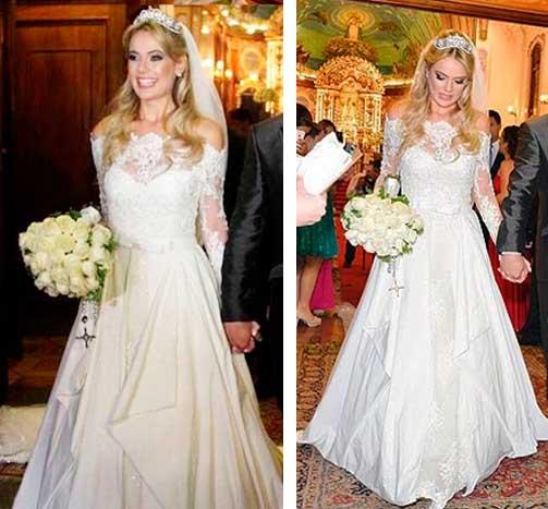 Thais Paschokek vestido de noiva