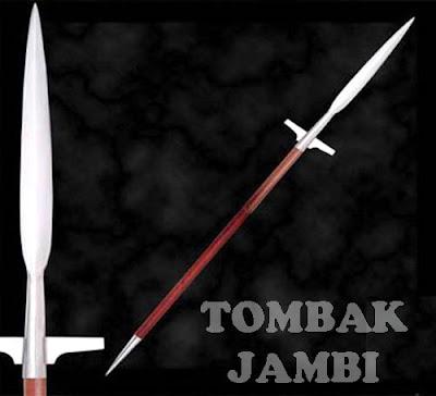 Gambar Senjata Tradisional Tombak Jambi