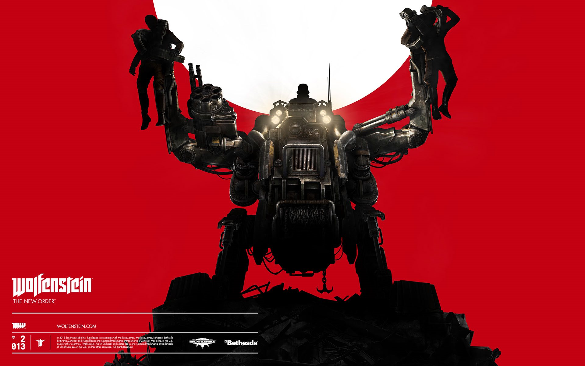 wolfenstein the new order wallpaper hd wallpapers