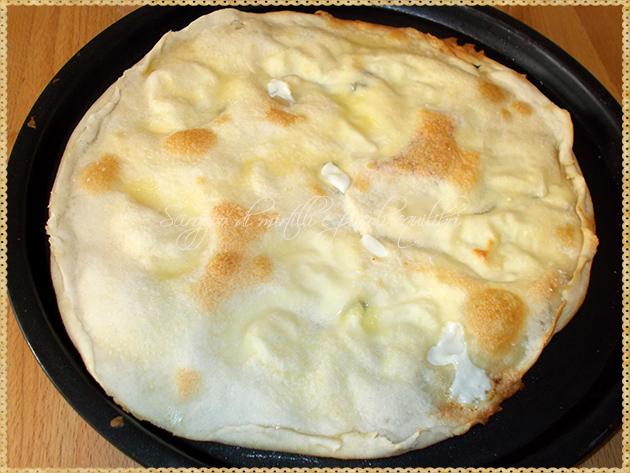 Focaccia col formaggio, cotta