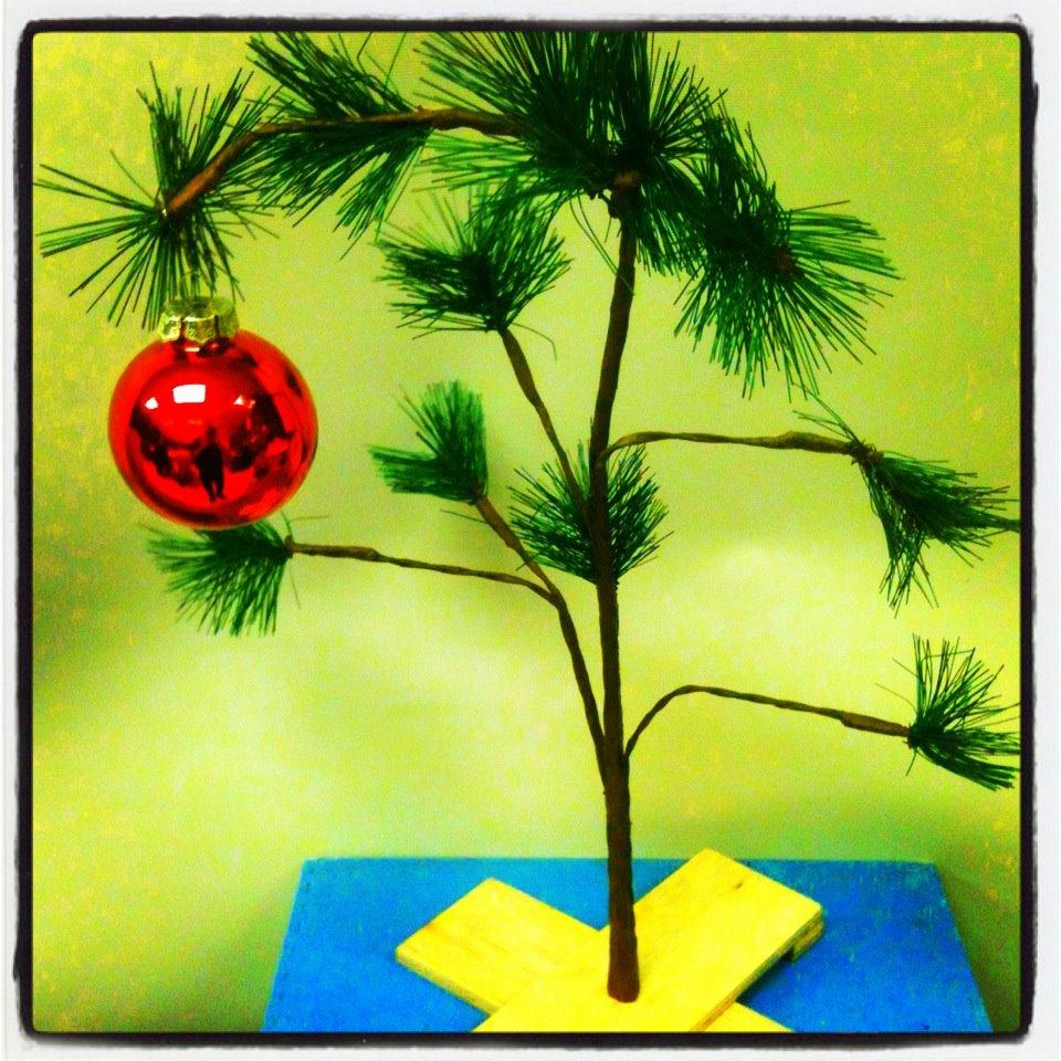 Charley Brown Christmas Tree: ART SKOOL DAMAGE : Christian Montone: From Life: Roadside