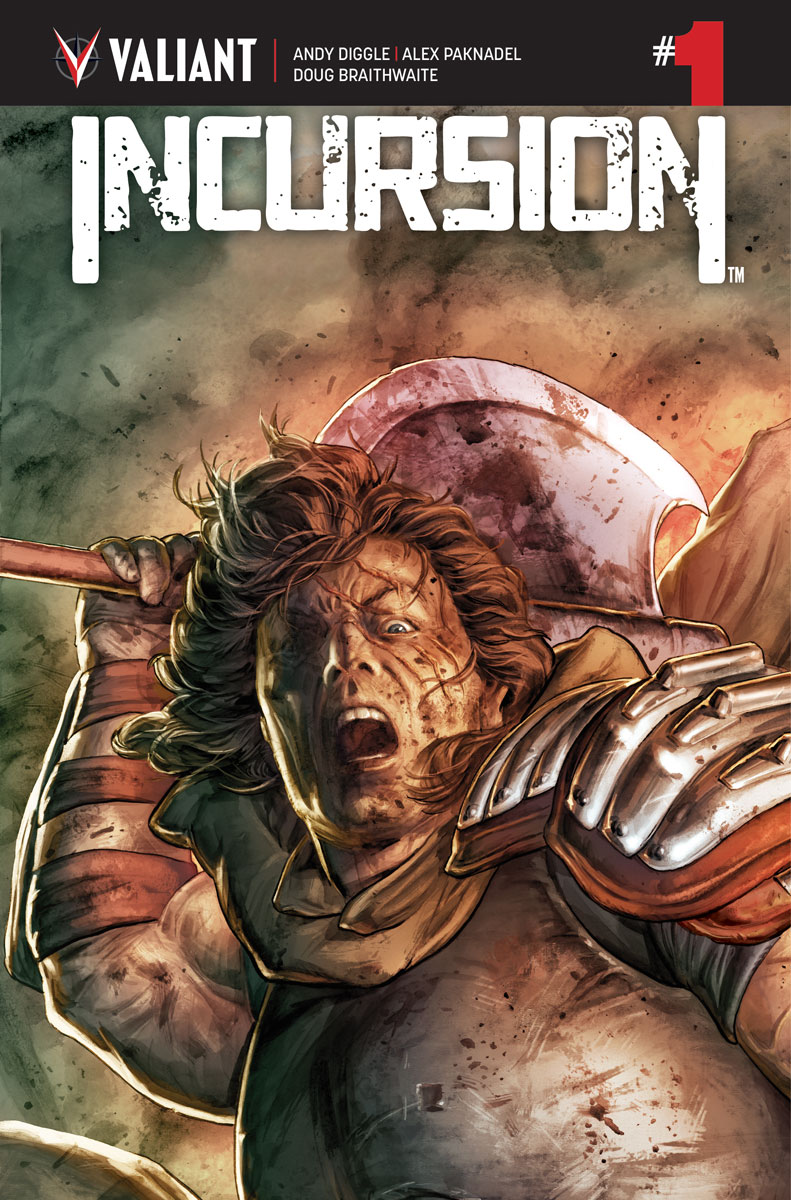 INCURSION #1 From Valiant