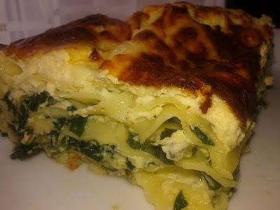 Lasagne s blitvom