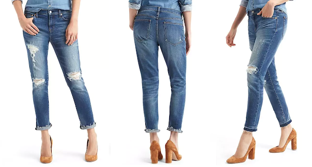 Gap Destructed Best Girlfriend Jeans $48 (reg $80)