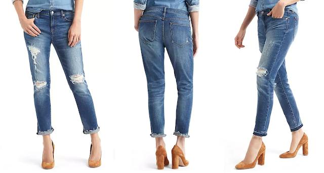 Gap Destructed Best Girlfriend Jeans $48 (reg $80)