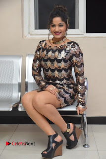 Actress Madhavi Latha Pictures in Short Dress at On Mona Birthday Premiere 0059