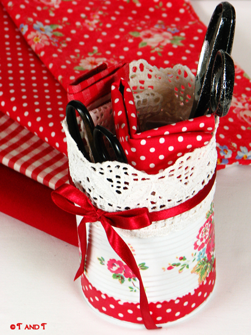 Awesome cath kidston style makeovers using paint, napkins and decoupage